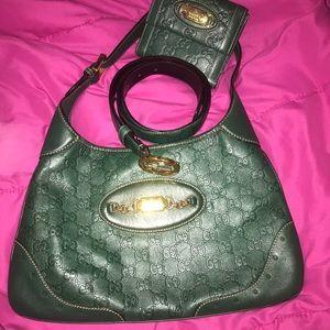 FLASH SALE!! Authentic Gucci Hobo, wallet & belt.